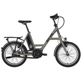 """i:SY DrivE S8 E-citybike 20"""" sølv"""
